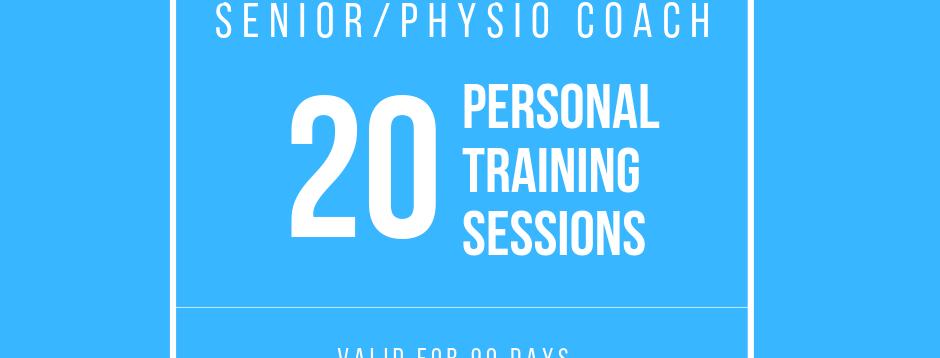 Senior/Physio: 20 Sessions