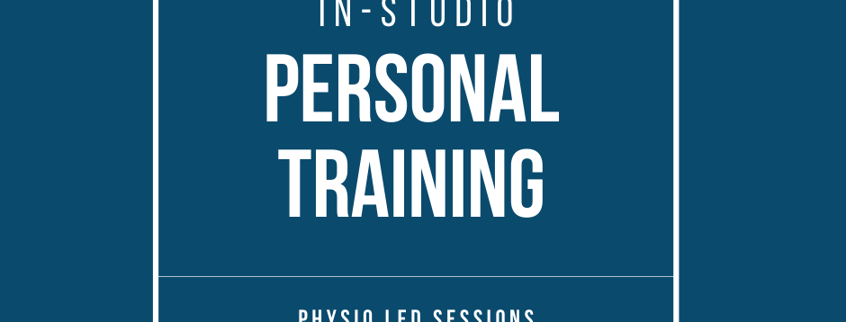 Physio Led Personal Training