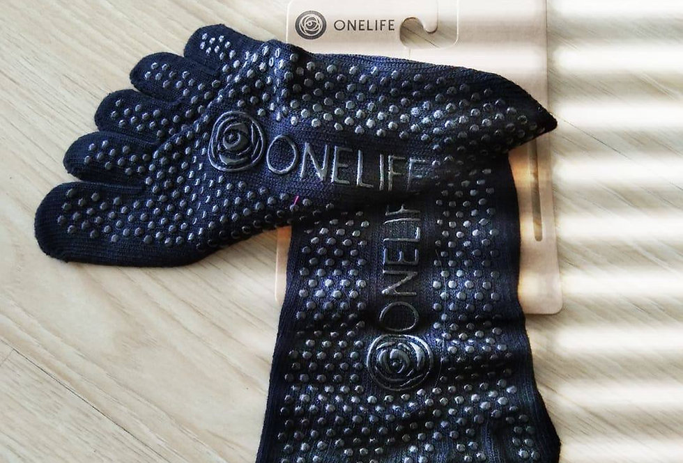 ONELIFE Grip Socks (Pack of 3)