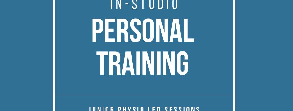 Junior Physio Led Personal Training