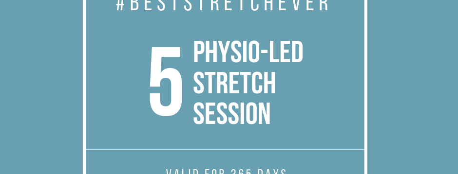 Physio-Led Stretch: 5 Sessions