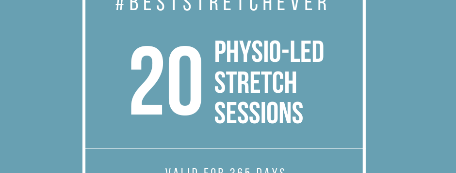 Physio-Led Stretch: 20 Sessions