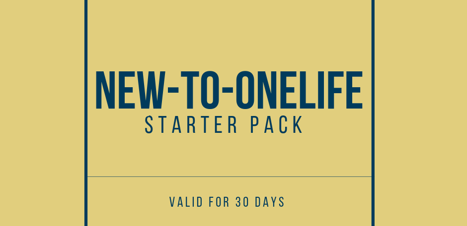 New-to-Onelife Starter Pack