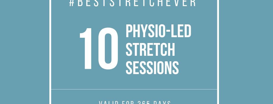Physio-Led Stretch: 10 Sessions