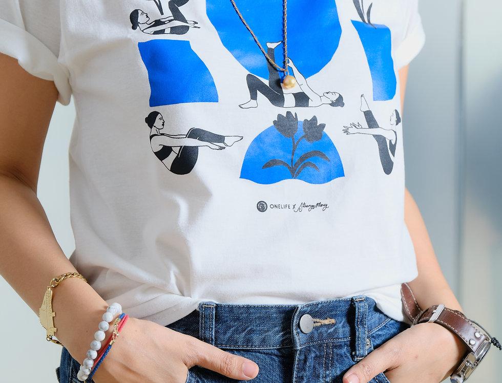 ONELIFE x Strange Mercy Shirt (Blue/Black)
