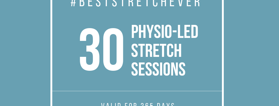 Physio-Led Stretch: 30 Sessions