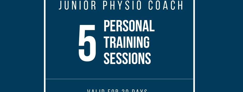 Junior Physio: 5 Sessions