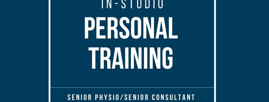 Senior Physio Led Personal Training