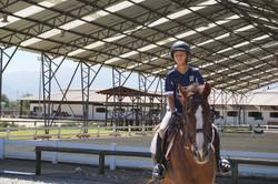 Clases equitación para niños