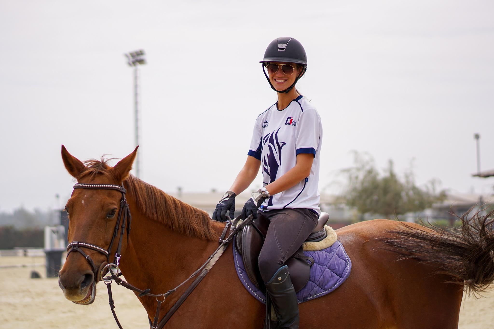 Clases de Equitación disfrutando