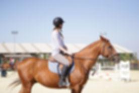 Adulto en Clase de Equitación