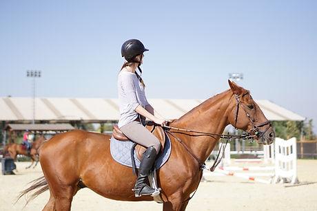 Clase de Equitacion www.clublacandelaria.com