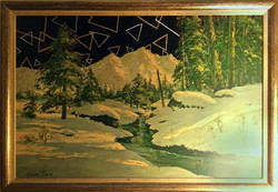 Landscape with Triangles