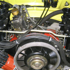 Porsche 911 RSR Doppelzünder Motor