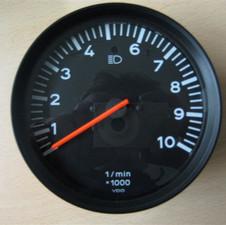 Drehzalmesser bis 10000 U/min Porsche VDO