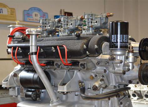 Ferrari 250 SWB 12 Zylinder Motor