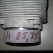 Mahle Zylinder verstärkt für Porsche 935 Turbo