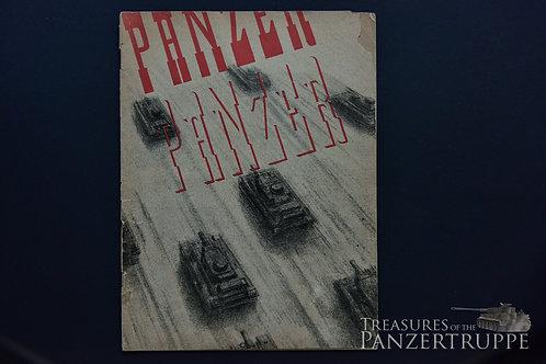 «Panzer Panzer» booklet