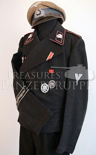 Panzer Wrapper Uniform Grossdeutschland GD Panzerdivision Panzer Regiment Wrapper Uniform Großdeutschland
