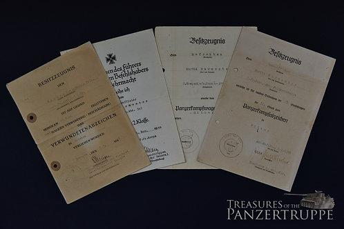 2.s.Pz.Abt.503 / FELDHERRNHALLE Doc-Grouping
