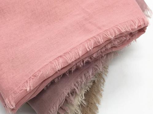 Solid Cotton Hijab