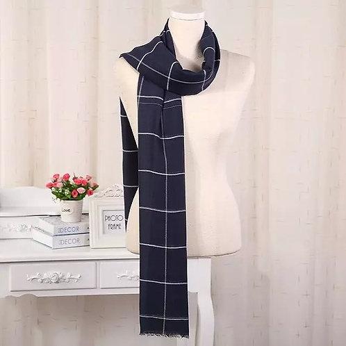 Plaid Cotton Hijab