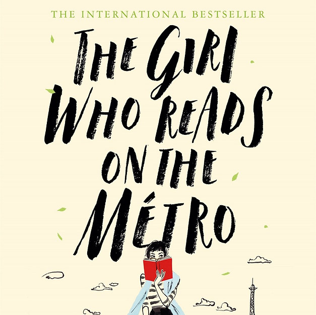 THE GIRL WHO READS ON THE METRO - Christine Féret-Fleury