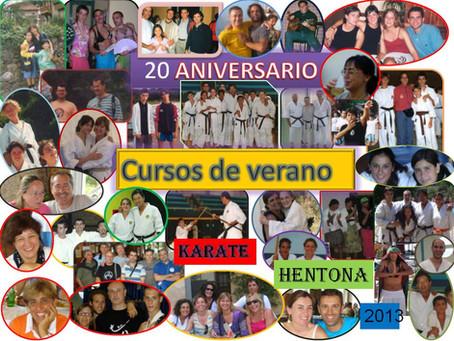 20 ANIVERSARIO CURSOS DE VERANO MAESTRO HENTONA