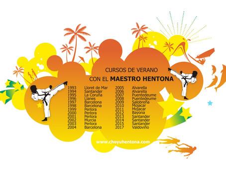 CURSOS DE VERANO CON EL MAESTRO HENTONA