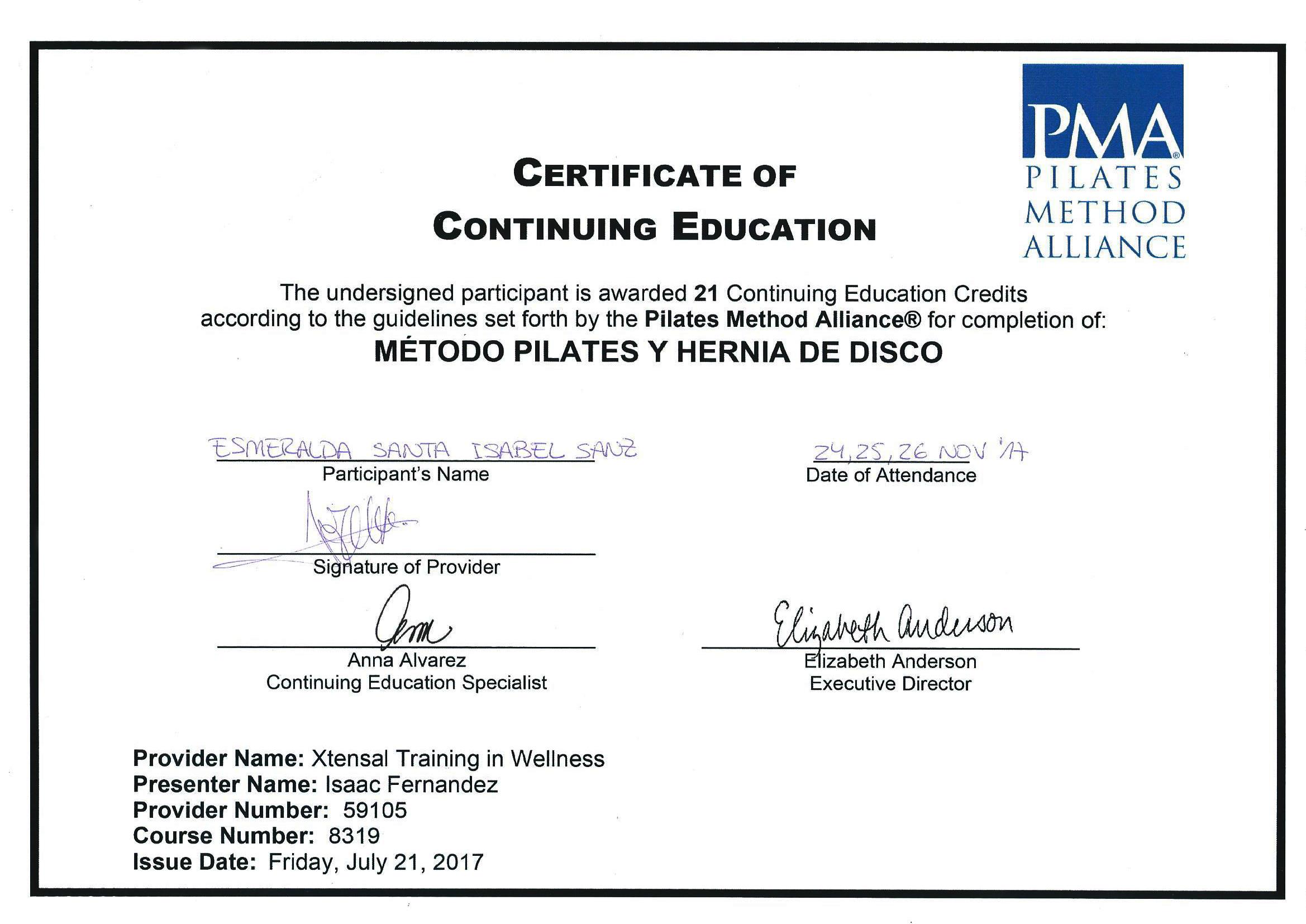 METODO PILATES Y HERNIA DE DISCO 2017