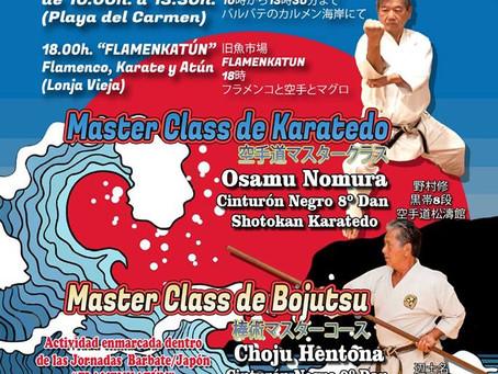 MASTER CLASS DE KARATEDO EN BARBATE