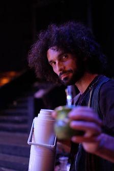 Damián Bojorque. Actor, director, dramaturgo