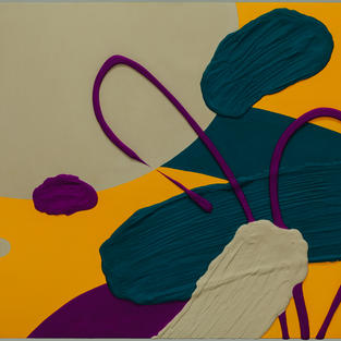 Untitled-39, 41.5x53(cm)(10H), Mixed media, 2021