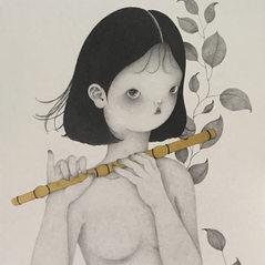 ParkSungok_a flute girl