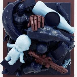 Pop up book-Darke indigo