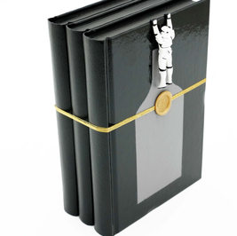 Three books-Black