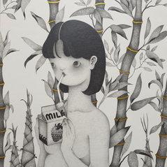 ParkSungok_girl with milk