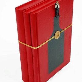 Three books-Red