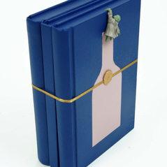Three books-Blue