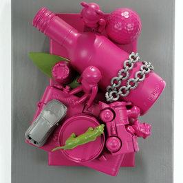 Pop up book-Punk pink