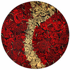 KimMinsu_Hero's talisman(red&gold line)