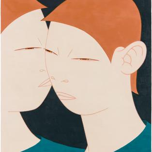 두 사람- 키스 TWO PEOPLE 2019 Oil on canvas 72.7cm x 60.6cm.jpg