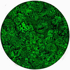 Hero's talisman(green)