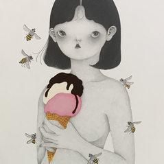 ParkSungok_a girl with icecream