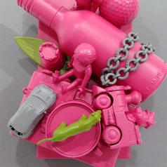 pop up book - Punk Pink