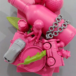 pop up book - Punk Pink