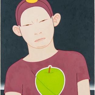 한 사람- 백설이 Someone- Snow White03 2018 Oil on canvas 72.7cm x 60.6cm. 03.jpg