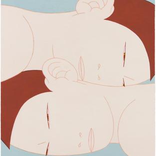 두 사람 20-2 TWO PEOPLE 2019 Oil on canvas 72.7cm x 60.6cm.jpg