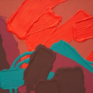 Untitled-12, 61x73(cm)(20H), mixed media, 2020