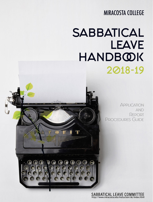 Sabbatical Leave Handbook